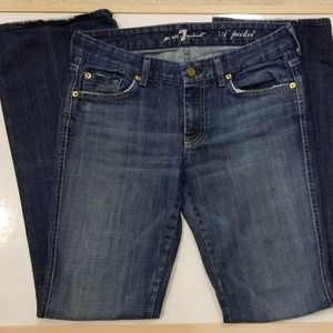 7 For All Mankind 'A' Pocket Flare Jeans